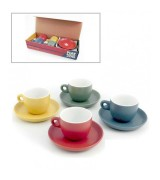 SET 4 TAZZINE CAFFE' COLORATE FIAT